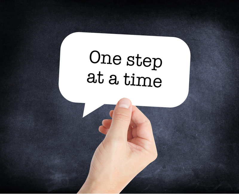 important first step blog